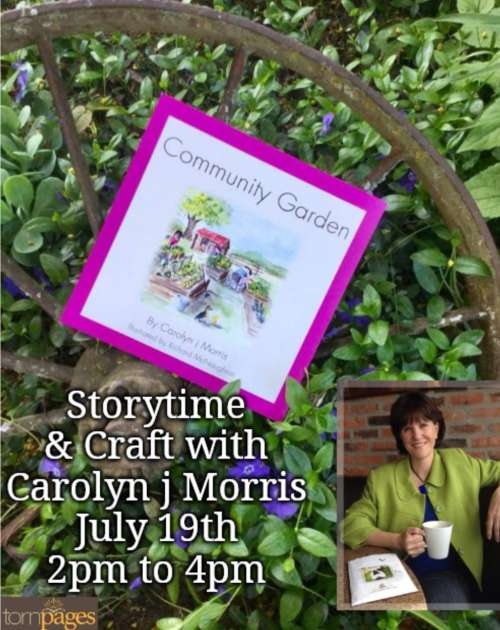 Carolyn j Morris  Storytime and Craft