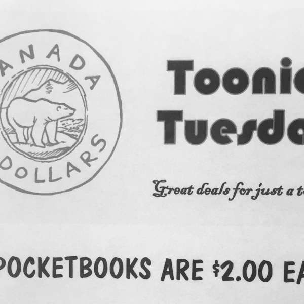 TOONIE TUESDAY!!