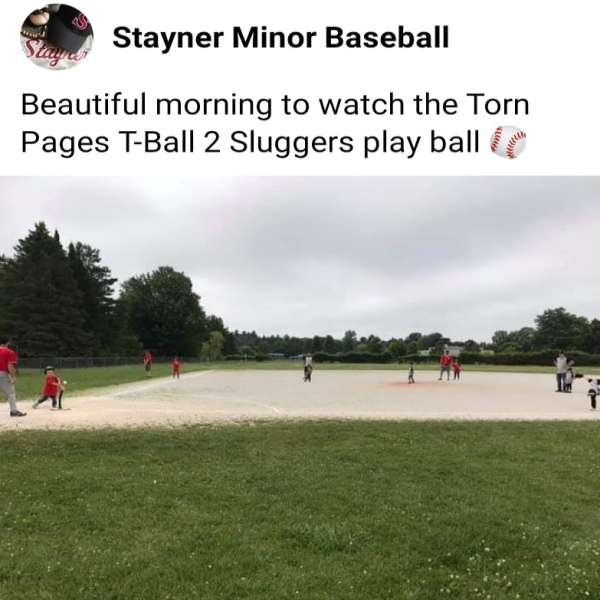 Proud to sponsor the 2019 Stayner Minor Baseball T-Ball 2 Sluggers Team